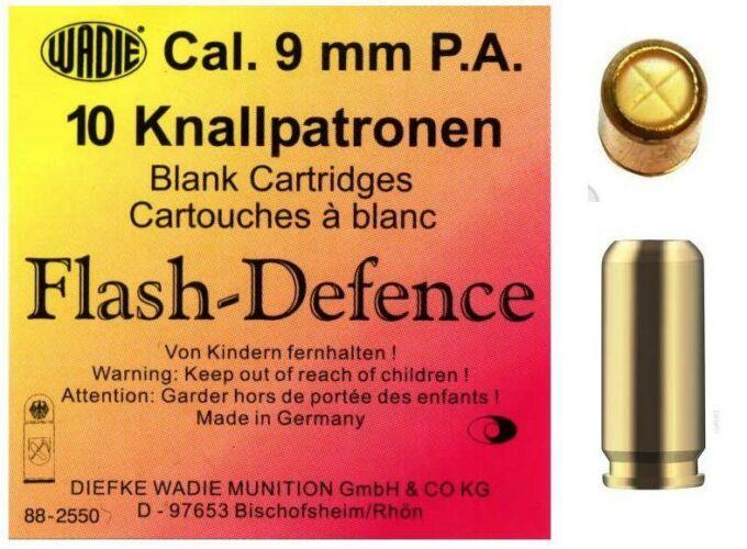 Image of 9mm PA Flash Defence riasztó töltény