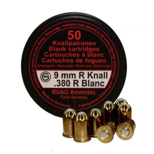 Image of 9mm R Knall feketelőporos riasztó töltény