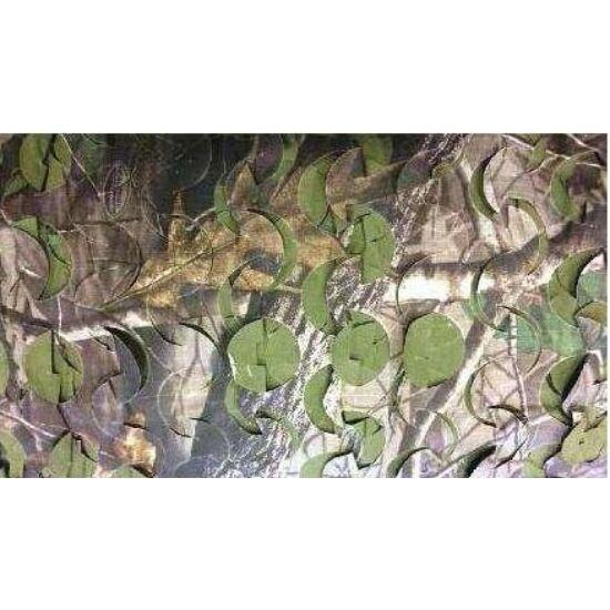 Terep háló, méteráru, hardwood színben, 2,2 méret széles