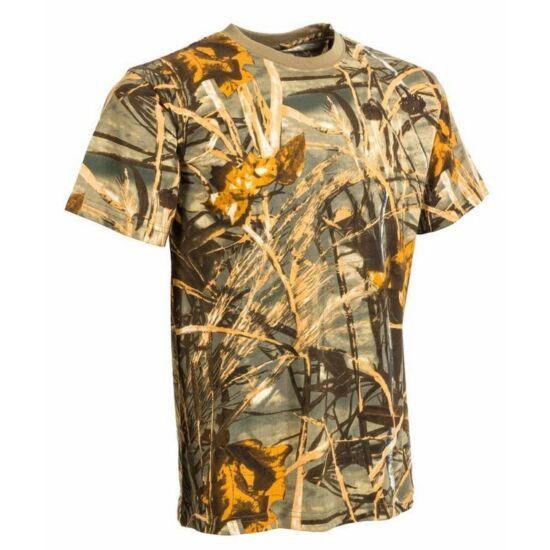 Póló, sárga hardwood színben (34-5)
