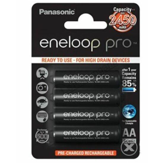 Panasonic eneloop pro akkumulátor 2450mAh 4db / bliszter
