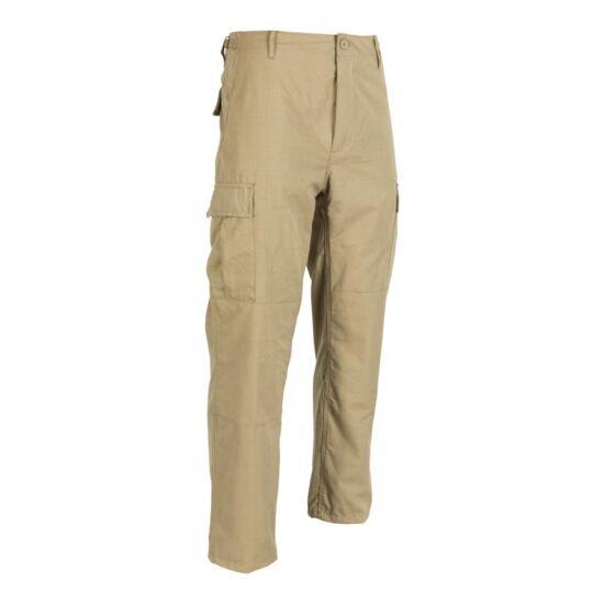 BDU nadrág, rip-stop, beige színben