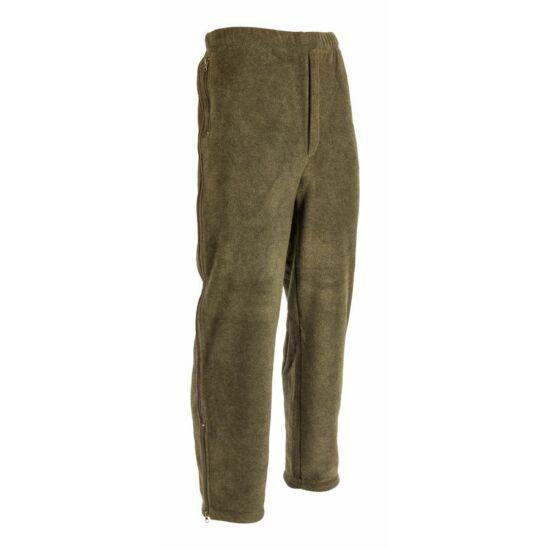 Supersoft fleece nadrág, zöld színben