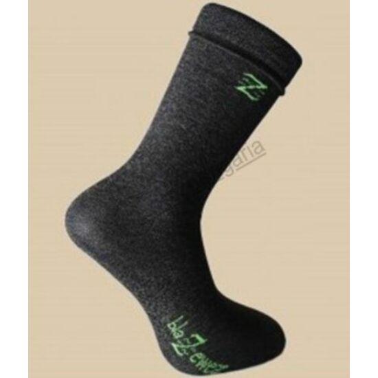Blazewear ezüstszálas zokni