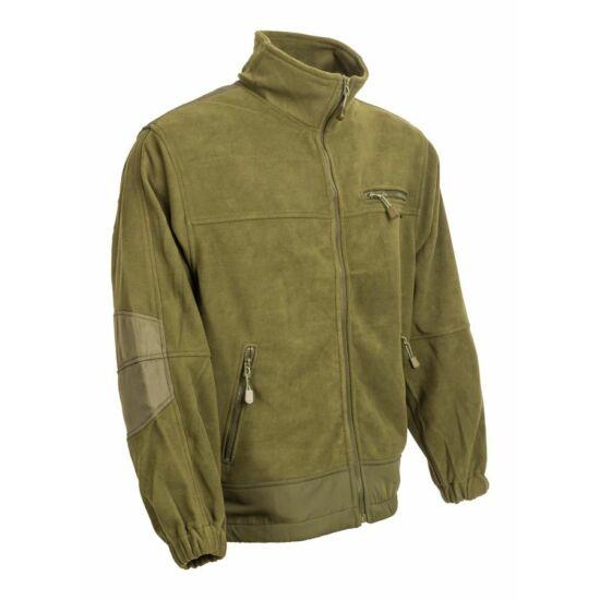 Dzseki, Fleece NO7, zöld színben, 3XL-es méret