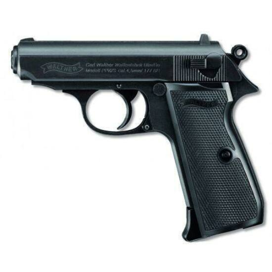 Walther PPK/S 4,5mm BB CO2