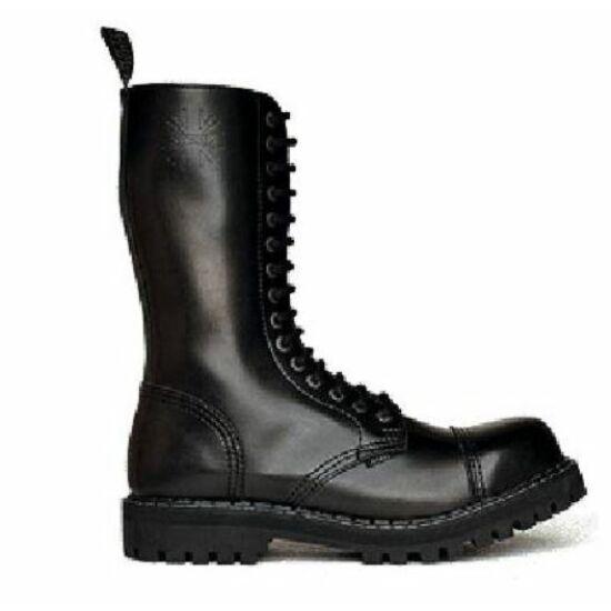 Steel Boots bakancs, 15 lyukú, fekete színben, 40-es méret
