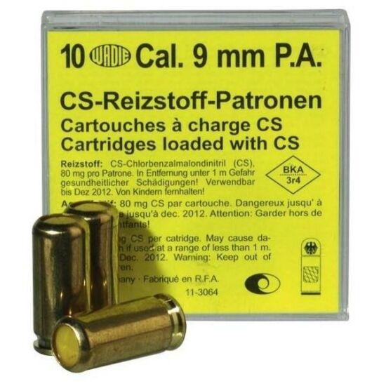 9mm PA CS gáztöltény