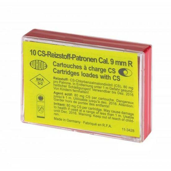 9mm R CS gáztöltény
