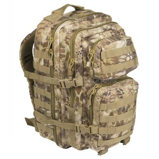 Mil-Tec B06 taktikai hátizsák 36L barna-mandra