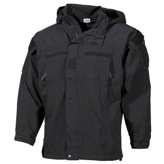 US Softshell bevetési dzseki , fekete, M-es méret