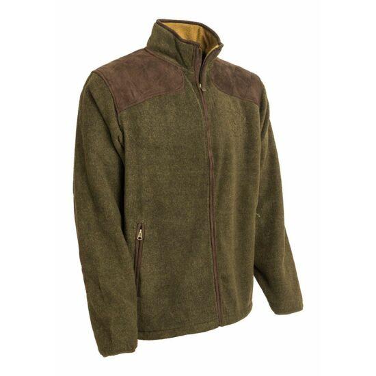 Dzseki, supersoft, fleece, zöld színben