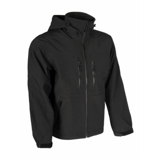 Gurkha Tactical Outdoor softshell dzseki fekete