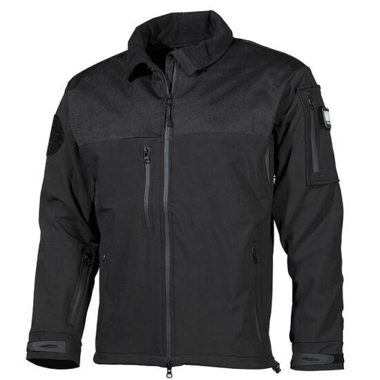 Softshell dzseki, AUSTRALIA, fekete színben, M-es méret