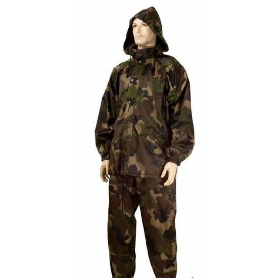 Mil-Tec esővédő öltöny, terep szín, L-es méret