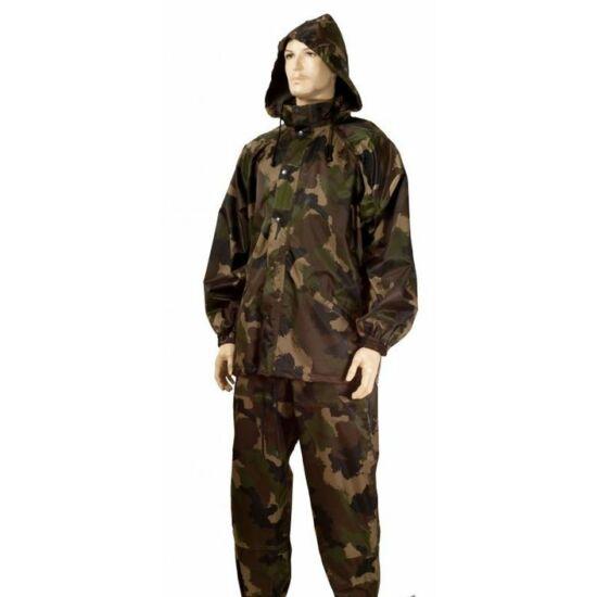 Mil-Tec esővédő öltöny, terep szín
