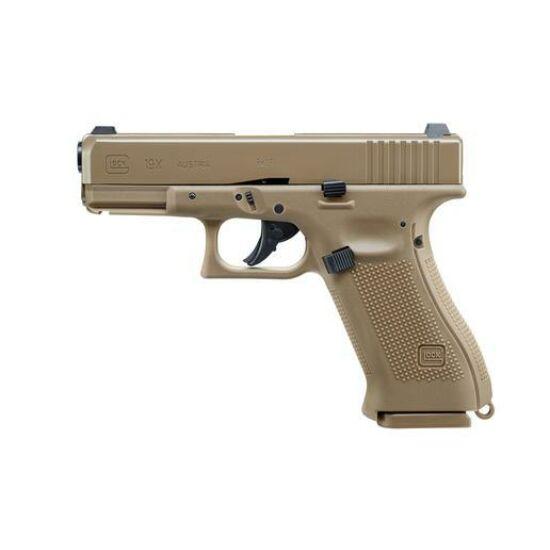 Glock 19X Blowback Co2 légpisztoly 4.5mmBB