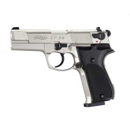 Walther CP88 légpisztoly, nikkel, műanyag markolattal