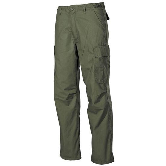 USA Gyakorló nadrág, Rip Stop, VIETNAM, zöld színben, XL-es méret
