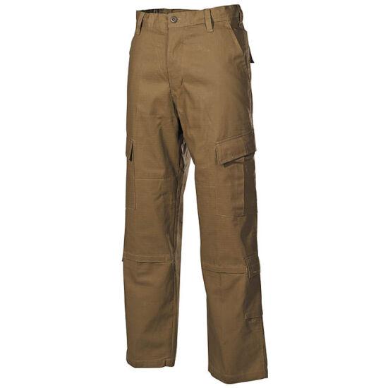 US Gyakorló nadrág, ACU Rip Stop, coyote színben, S-es M-es méret