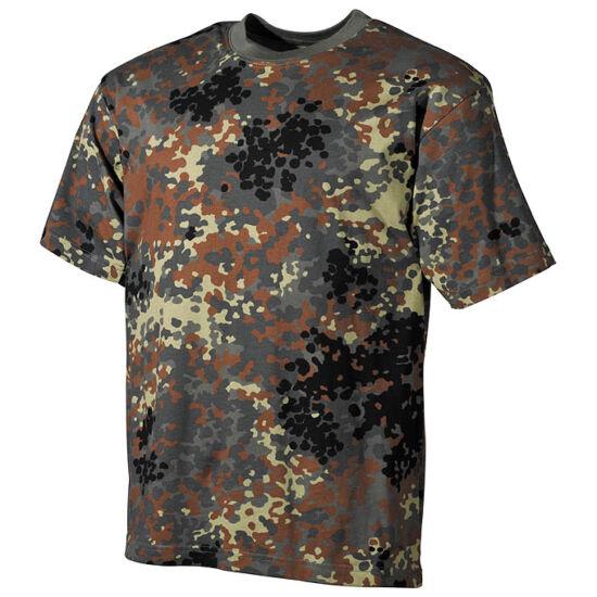 U.S, rövid ujjú póló, BW terep színben , L-es méret