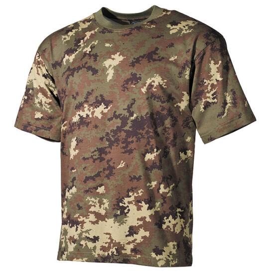 U.S, rövid ujjú póló, vegetato terep színben