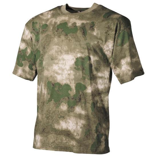 U.S. rövid ujjú póló, HDT zöld terep színben