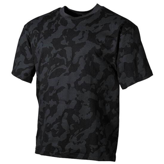 U.S. rövid ujjú póló, sötét-terep színben
