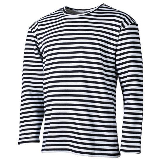 Tengerész póló, hosszú ujjú, téli változat