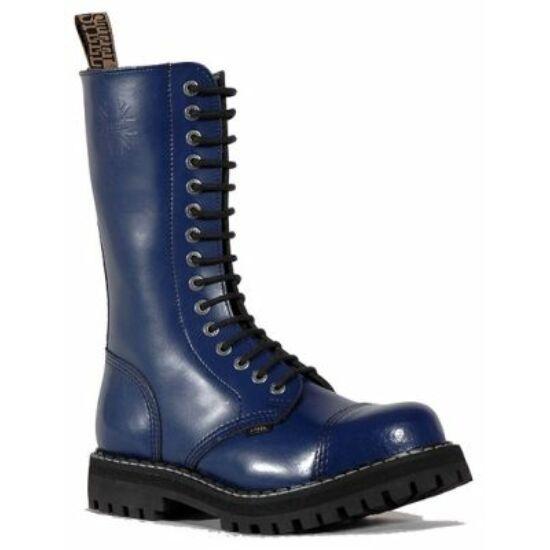 Steel Boots bakancs, 15 lyukú, tiszta kék színben