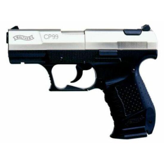 Walther CP99 légpisztoly, nikkelezett szánnal