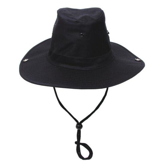 Bush kalap, MFH, fekete színben, S-es méret