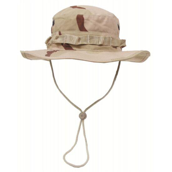 US GI Bush kalap, L-es méret, 3 szín sivatagi szín