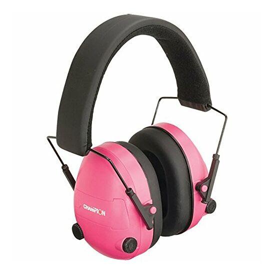 Elektromos Fülvédő, Champion, Pink 25dB